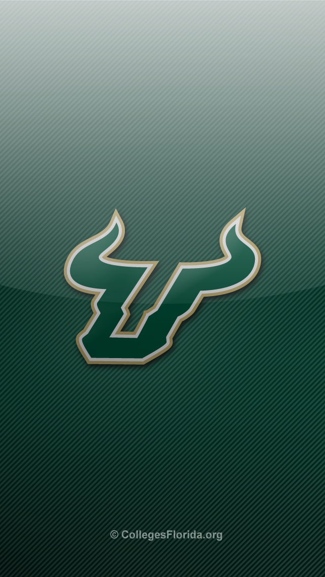 South Florida USF Bulls iPhone 5 Wallpapers   Colleges in Florida 640x1136