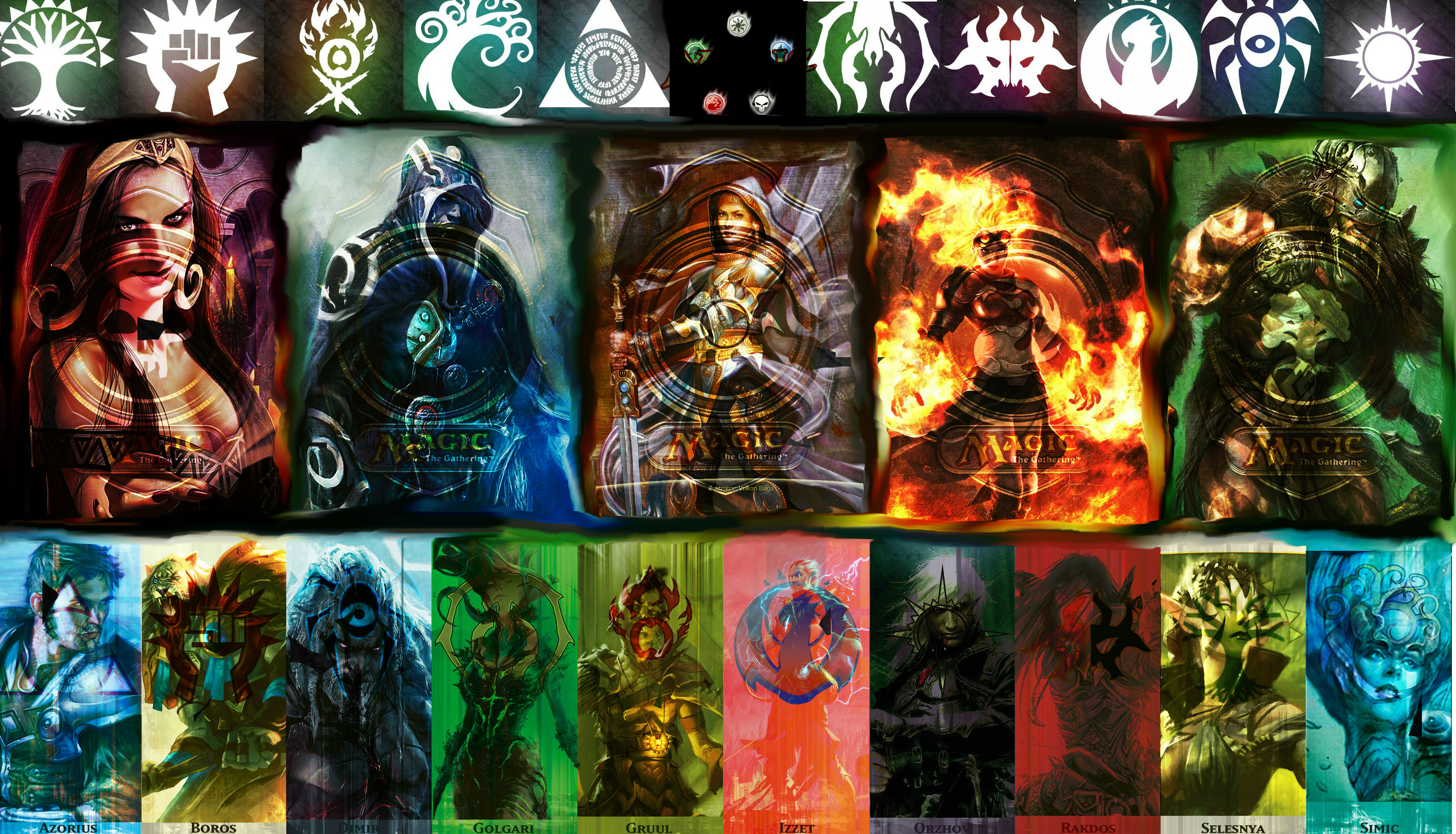49 Magic The Gathering Planeswalkers Wallpaper On Wallpapersafari