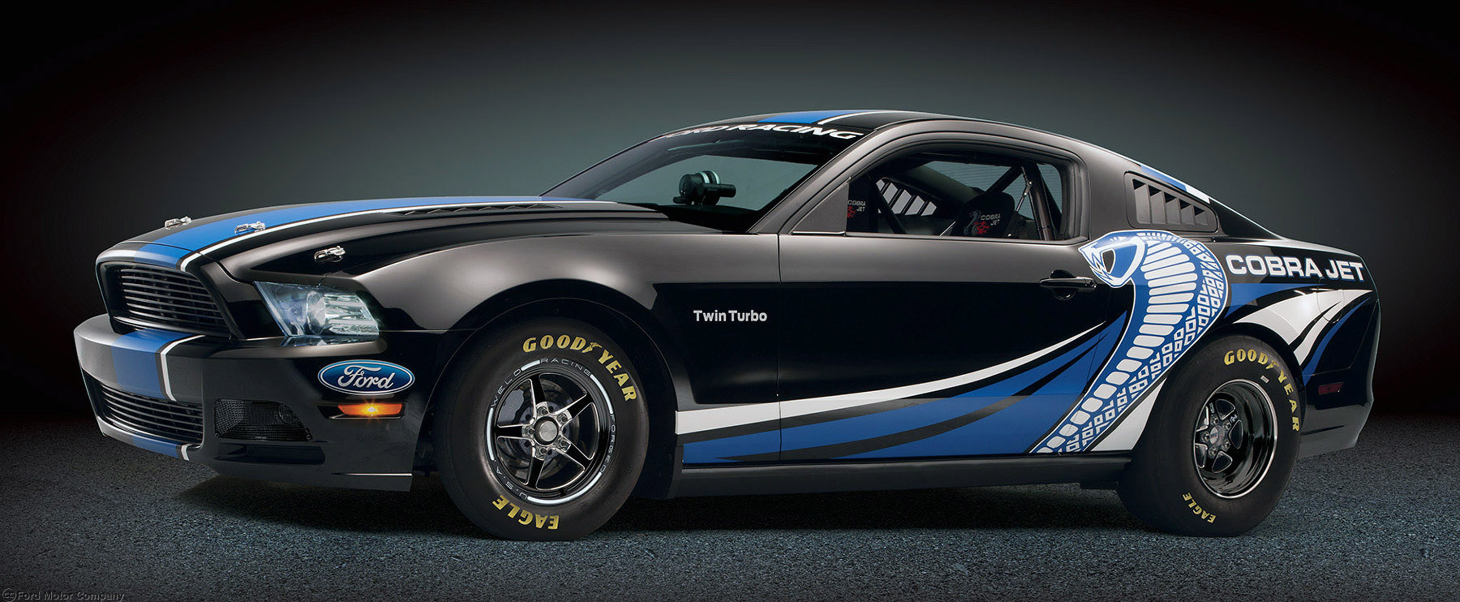 23 Ford Mustang Cobra Jet Twin Turbo HD Wallpapers Background 3000x1237