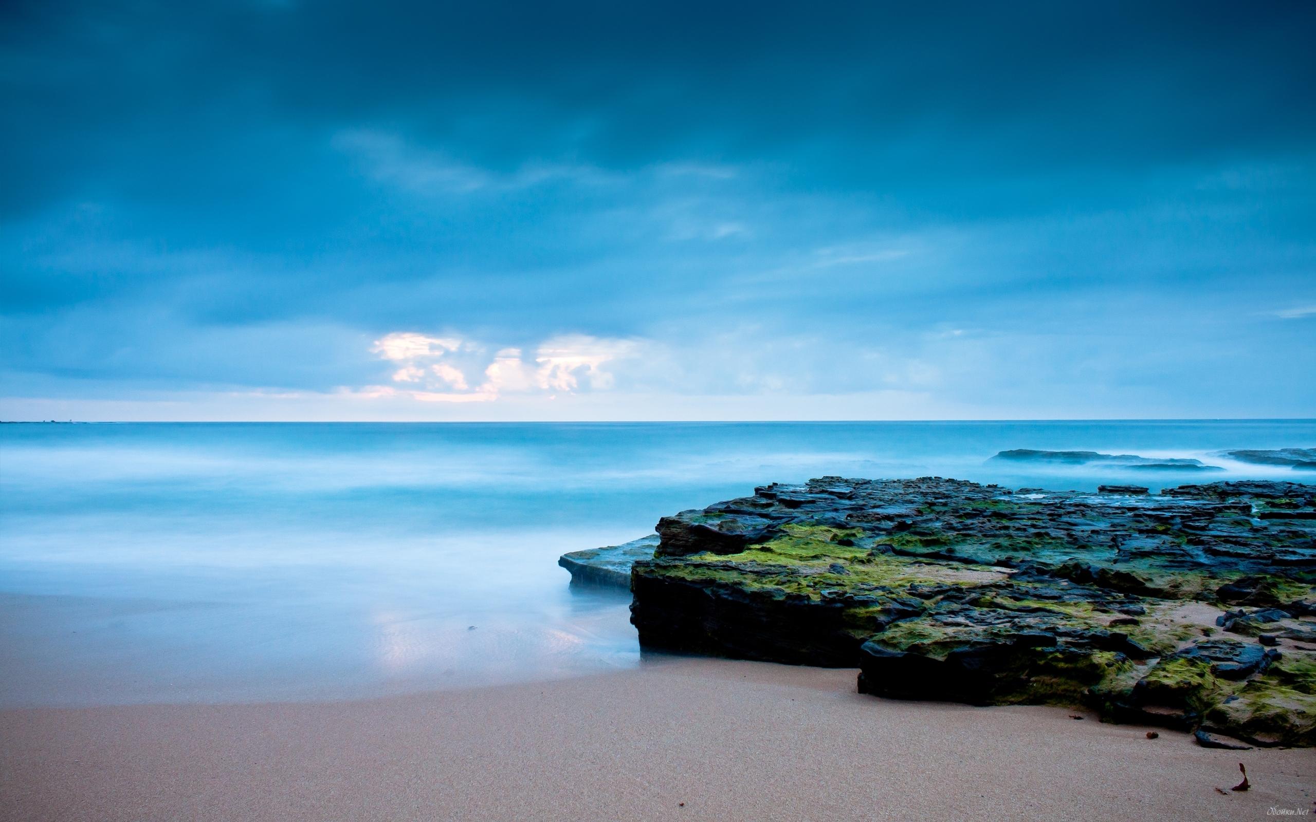 Calm sea shore HD Desktop Wallpaper HD Desktop Wallpaper 2560x1600