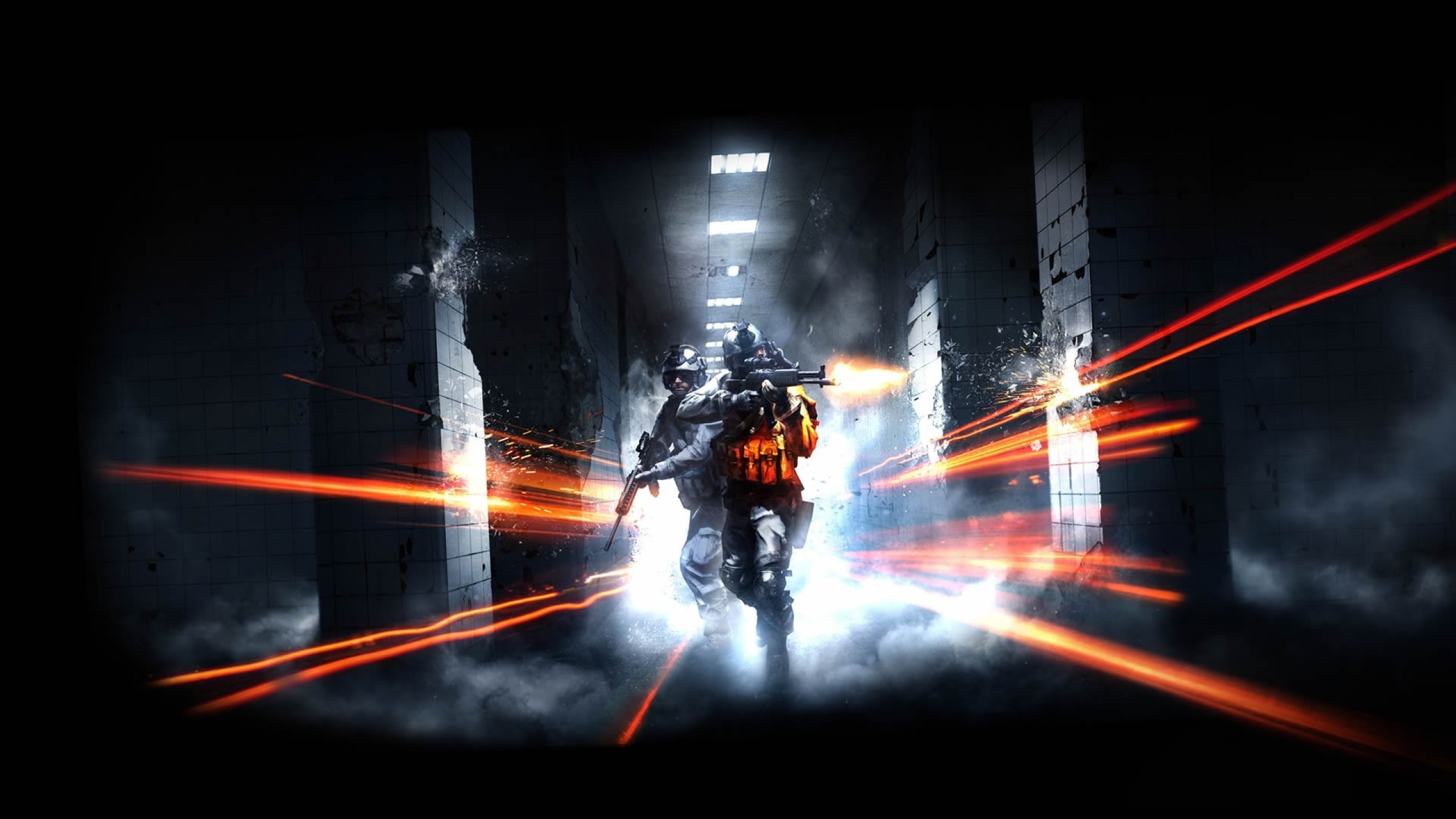 2560x1440 video games battlefield guns dice shooter fps gaming 2560x1440