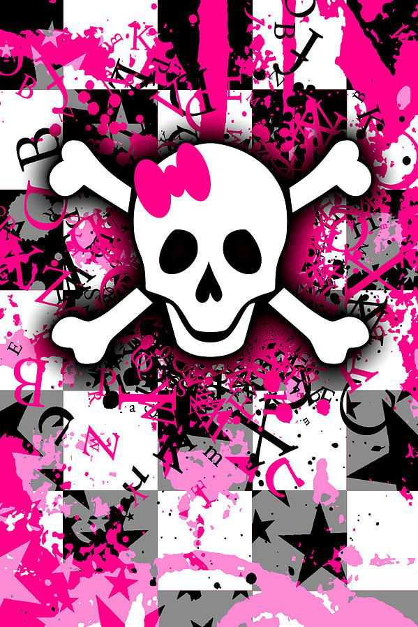 girly skull 1 of 6 digital art by roseanne jones girly skull 1 6348 599x899