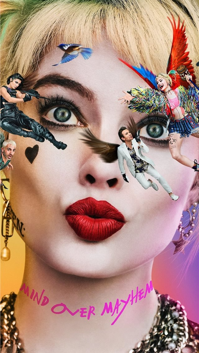 birds of prey 2020 movie 4k iPhone Wallpapers Download 640x1136