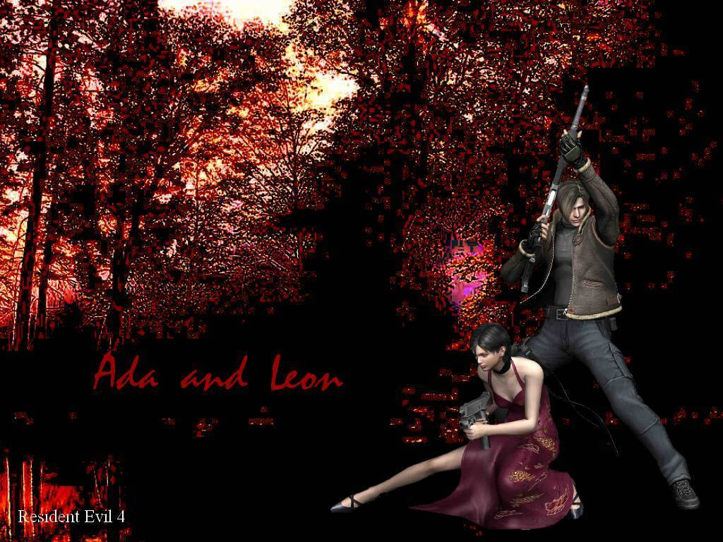 Free Download Re4 Leon Ada Resident Evil 4 Wallpaper 20511830
