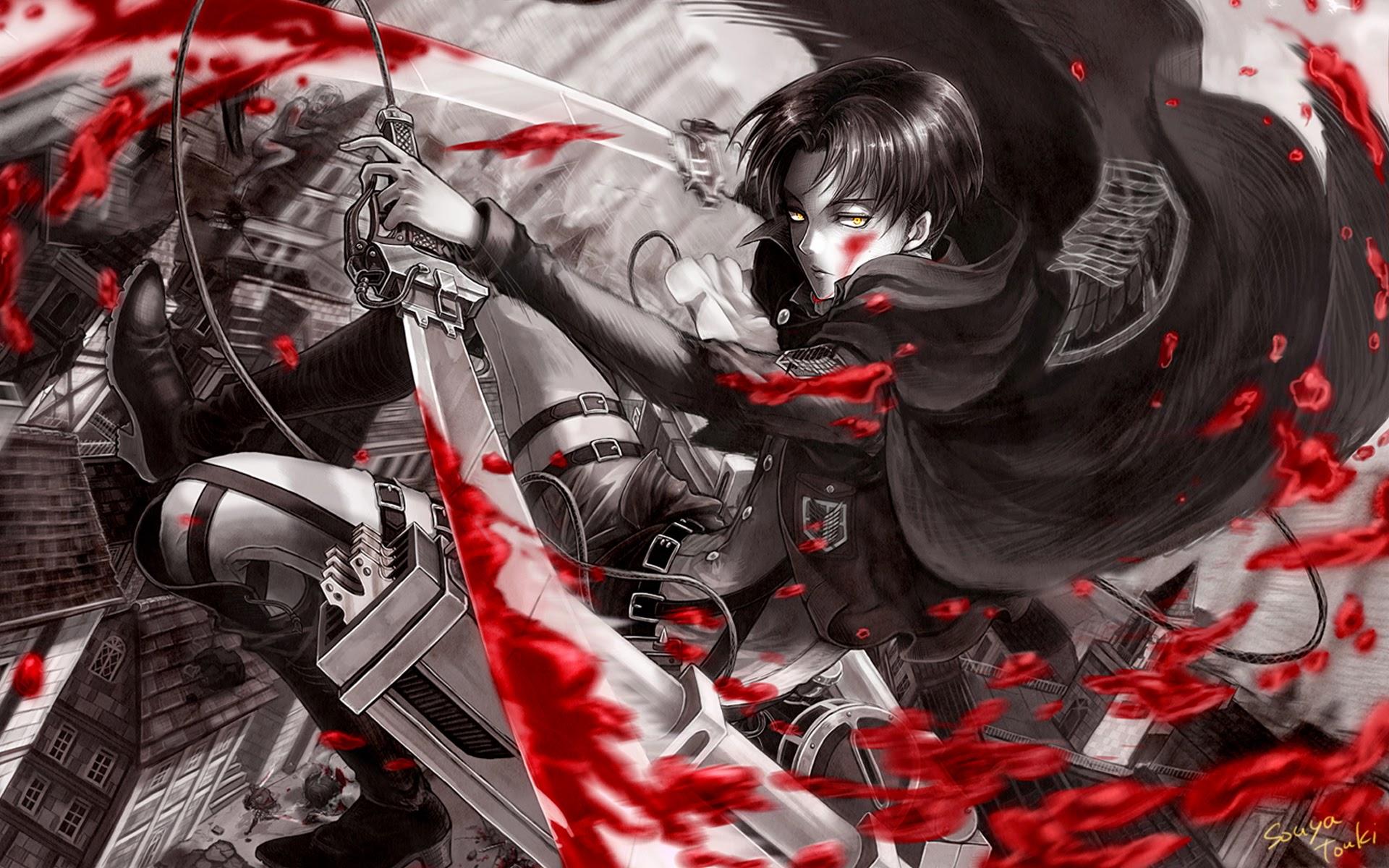 levi anime attack on titan shingeki no kyojin hd wallpaper 1920x1200 1920x1200