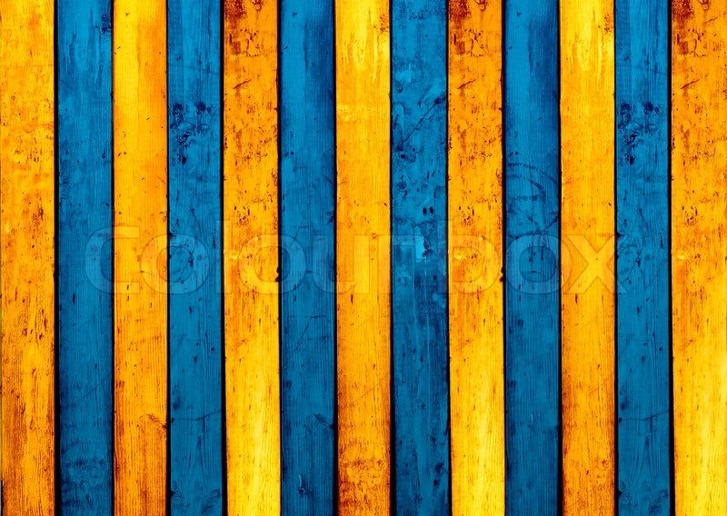 Blue And Yellow Striped Wallpaper: Yellow And Blue Wallpaper