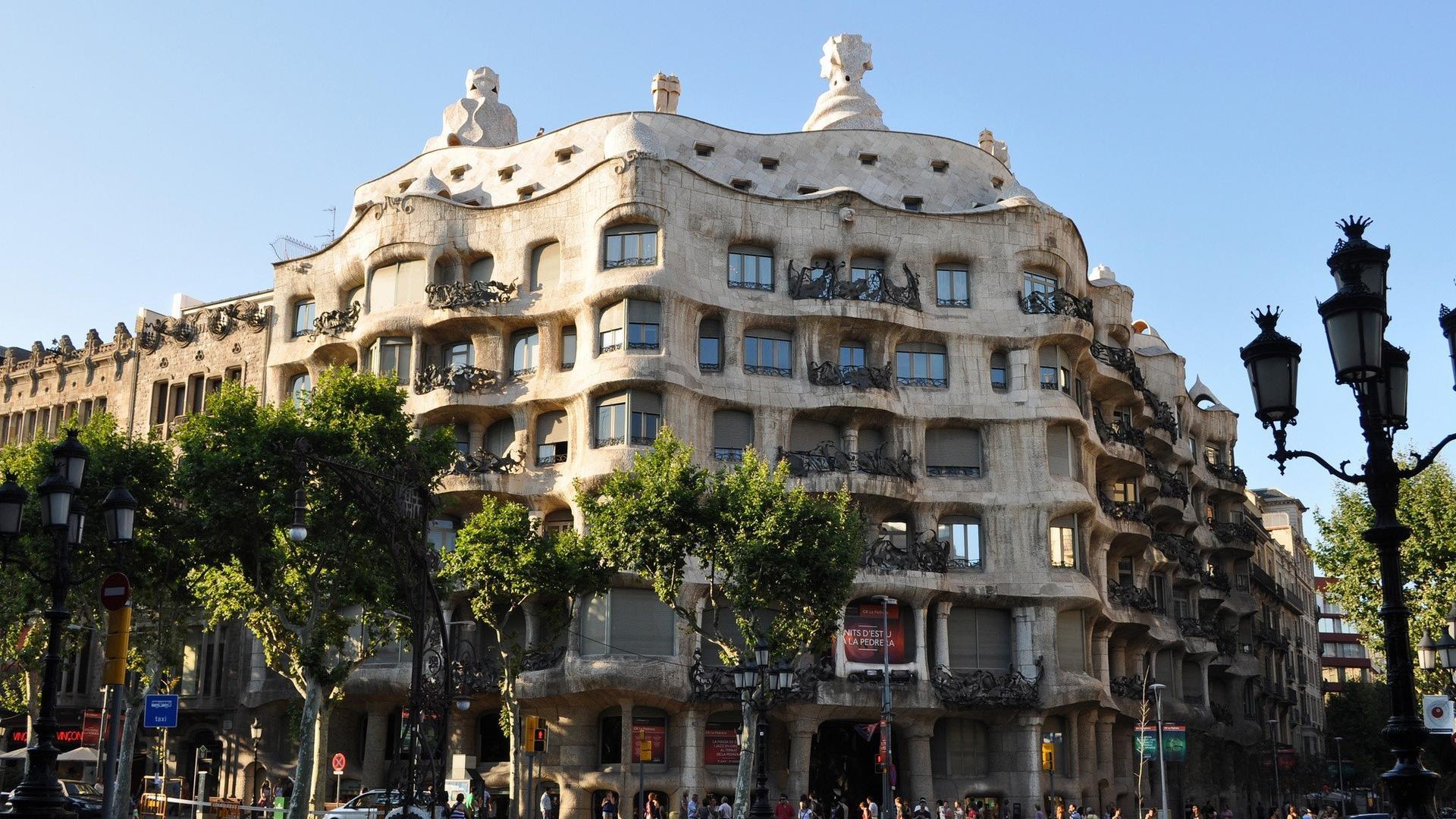 Architecture barcelona gaudi wallpaper 31435 1920x1080