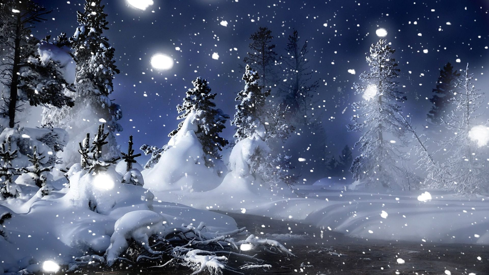 Winter Snow   Wallpaper High Definition High Quality 1920x1080