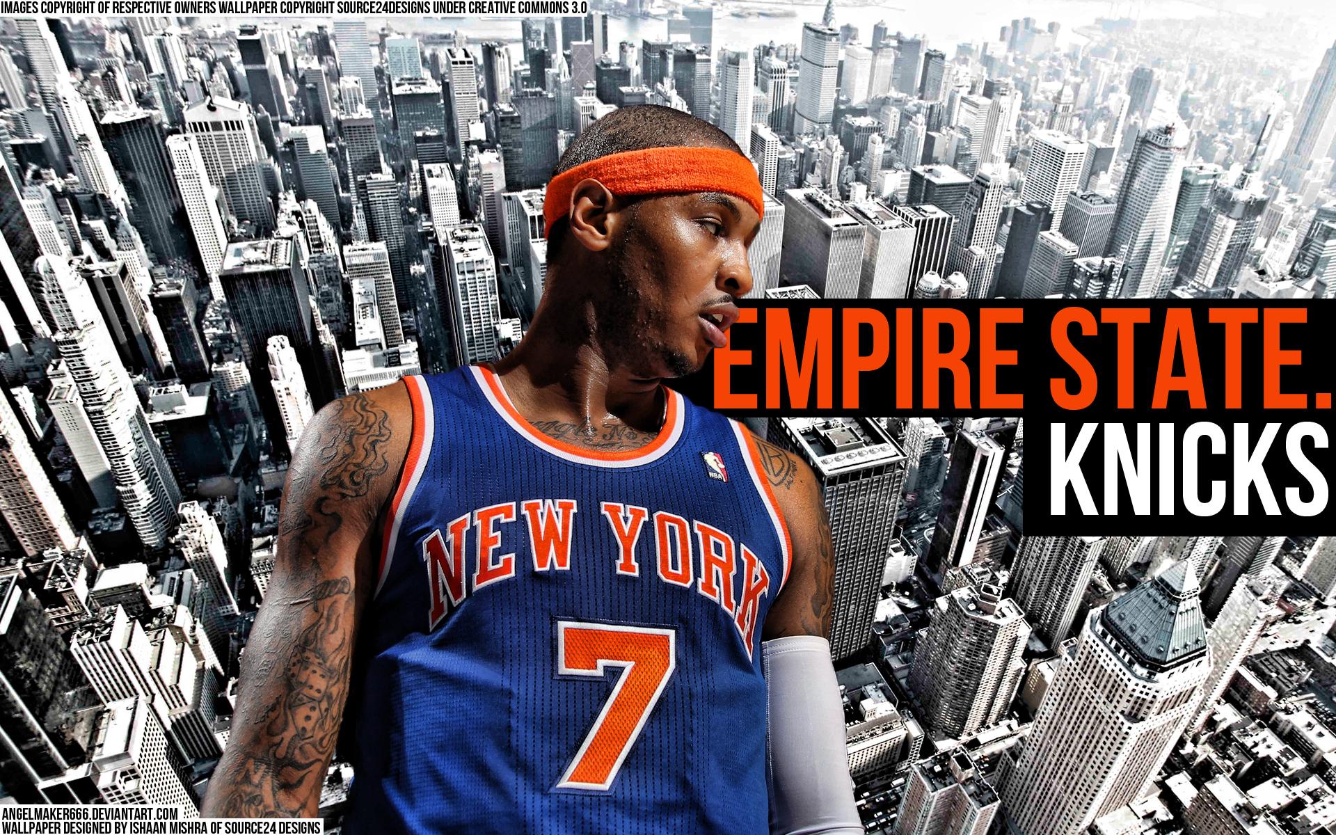 Carmelo Anthony Knicks Wallpaper 2013