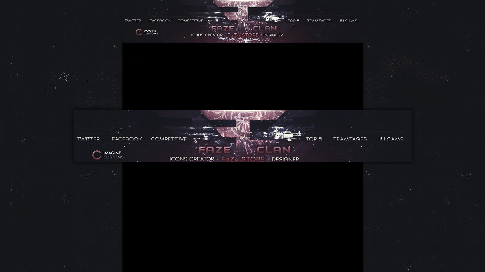 Faze Clan Wallpaper Faze clan youtube background 1600x900