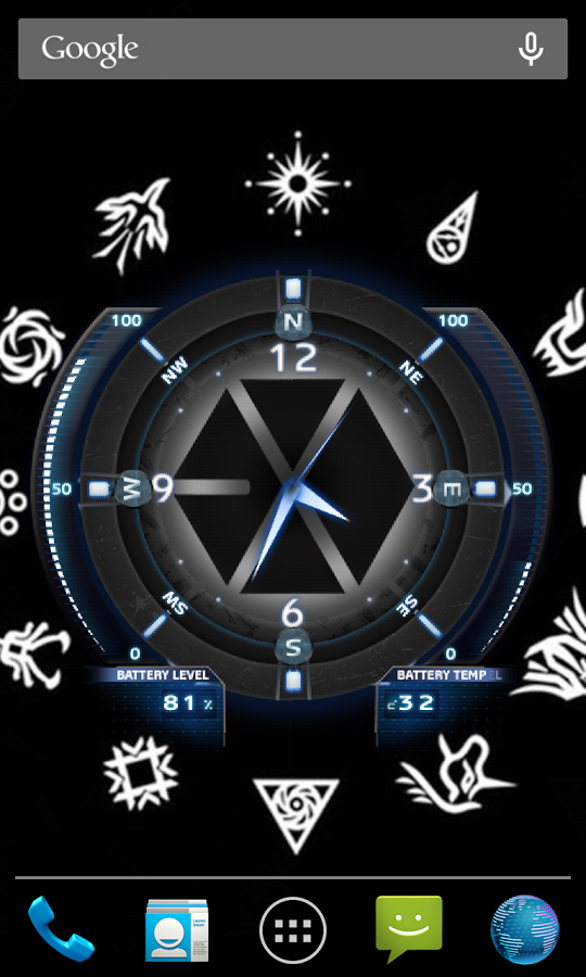 Exo Logo Wallpaper Freapp Exo Live Wallpaper 540x900