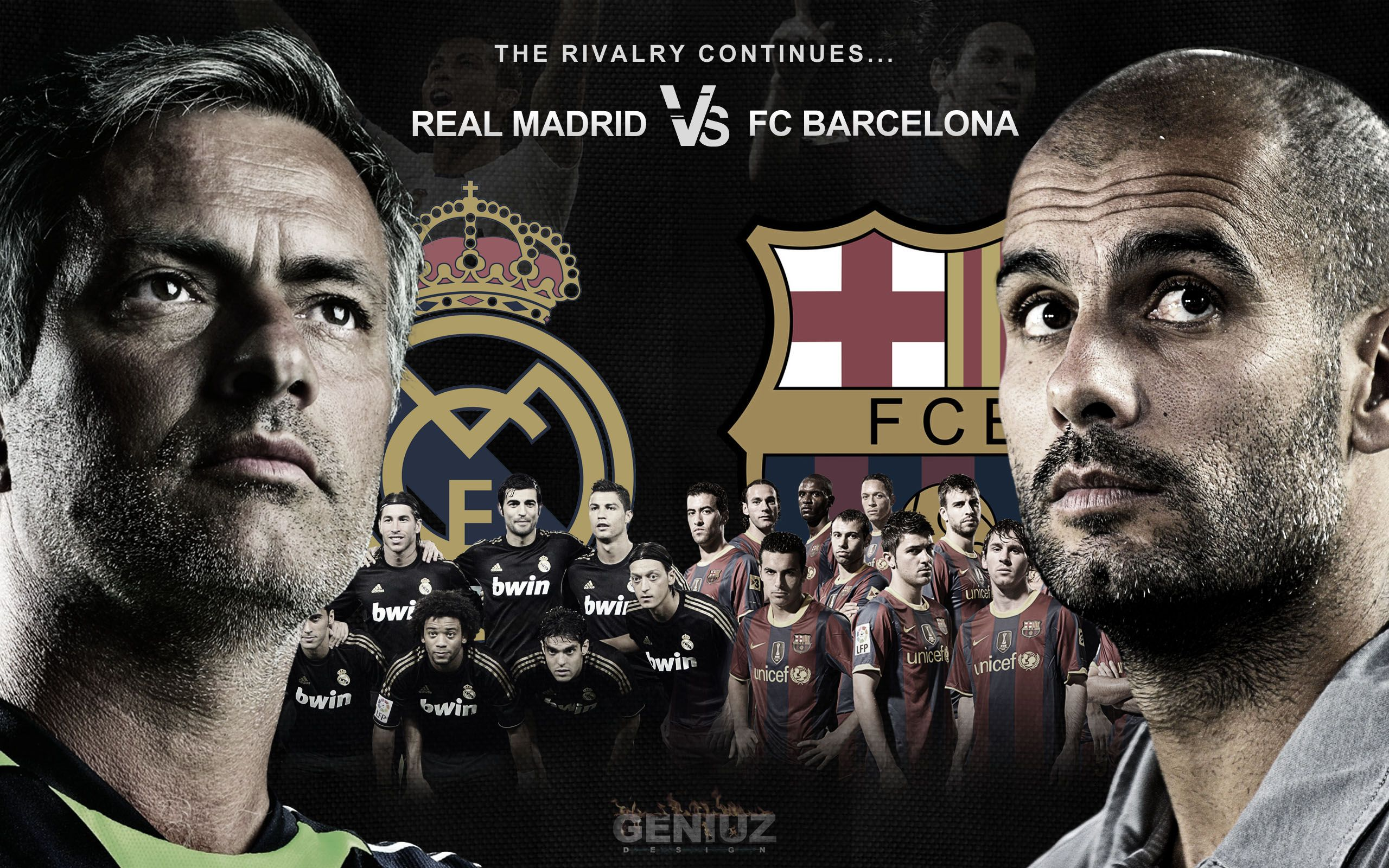 Real Madrid Vs Barcelona Wallpaper 2560x1600