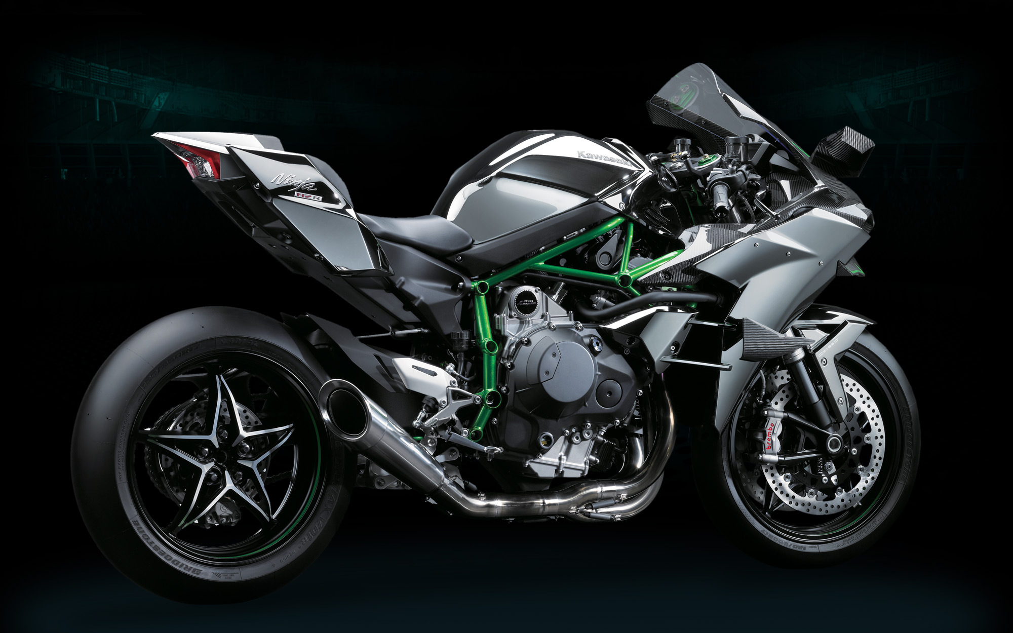Expect To See The Kawasaki Ninja H2 Street Bike Debut At EICMA Let 2000x1250
