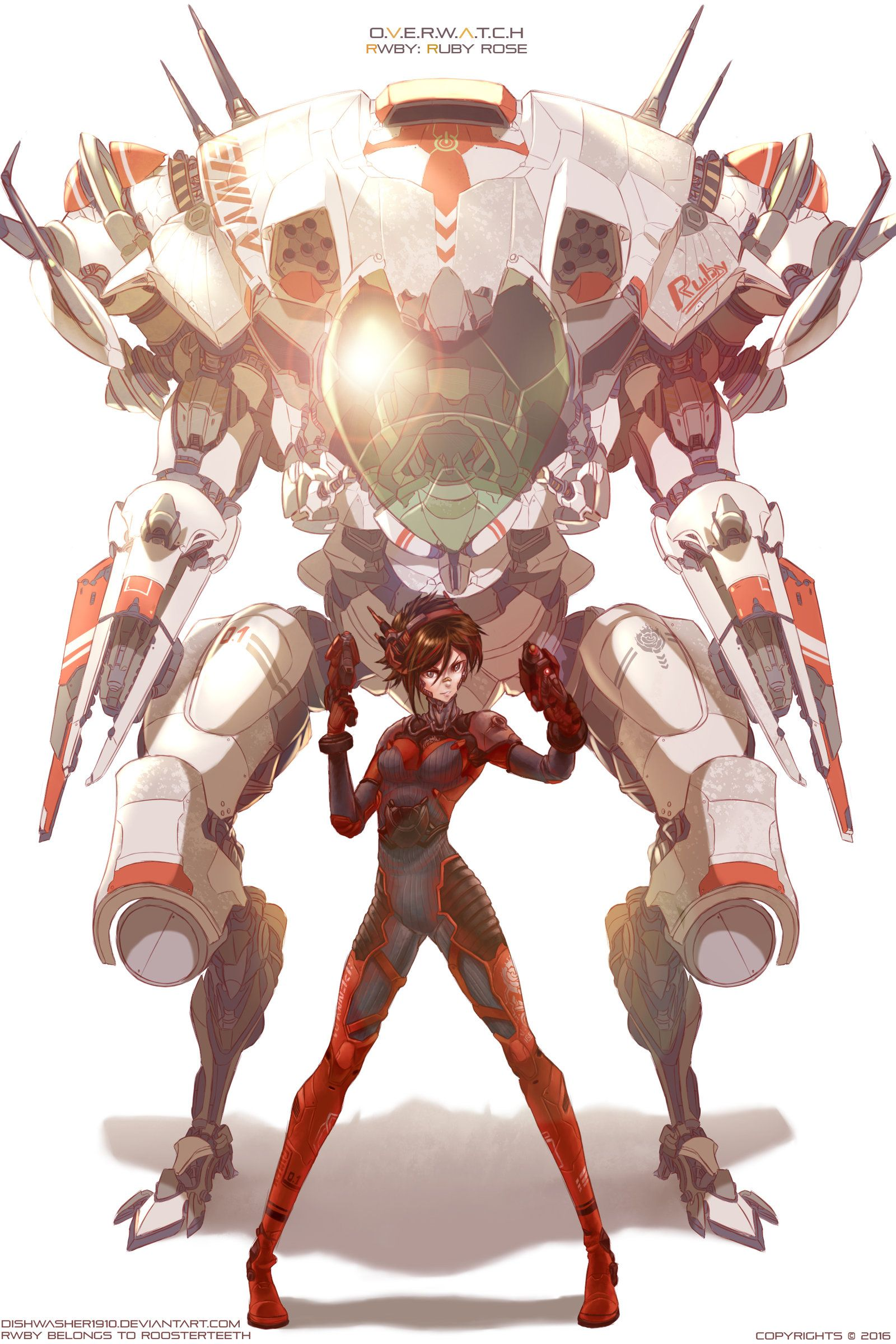 Get Your First Look at GenLock the Mecha Action Drama from the 1600x2400