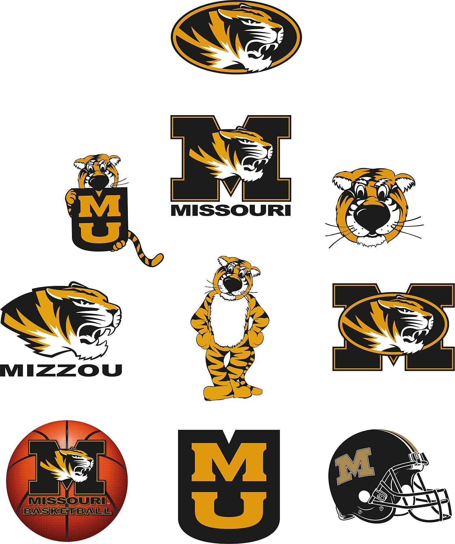 Brewster Wallcovering Missouri Tigers Logo Fathead Jr Search Results 1505x1800