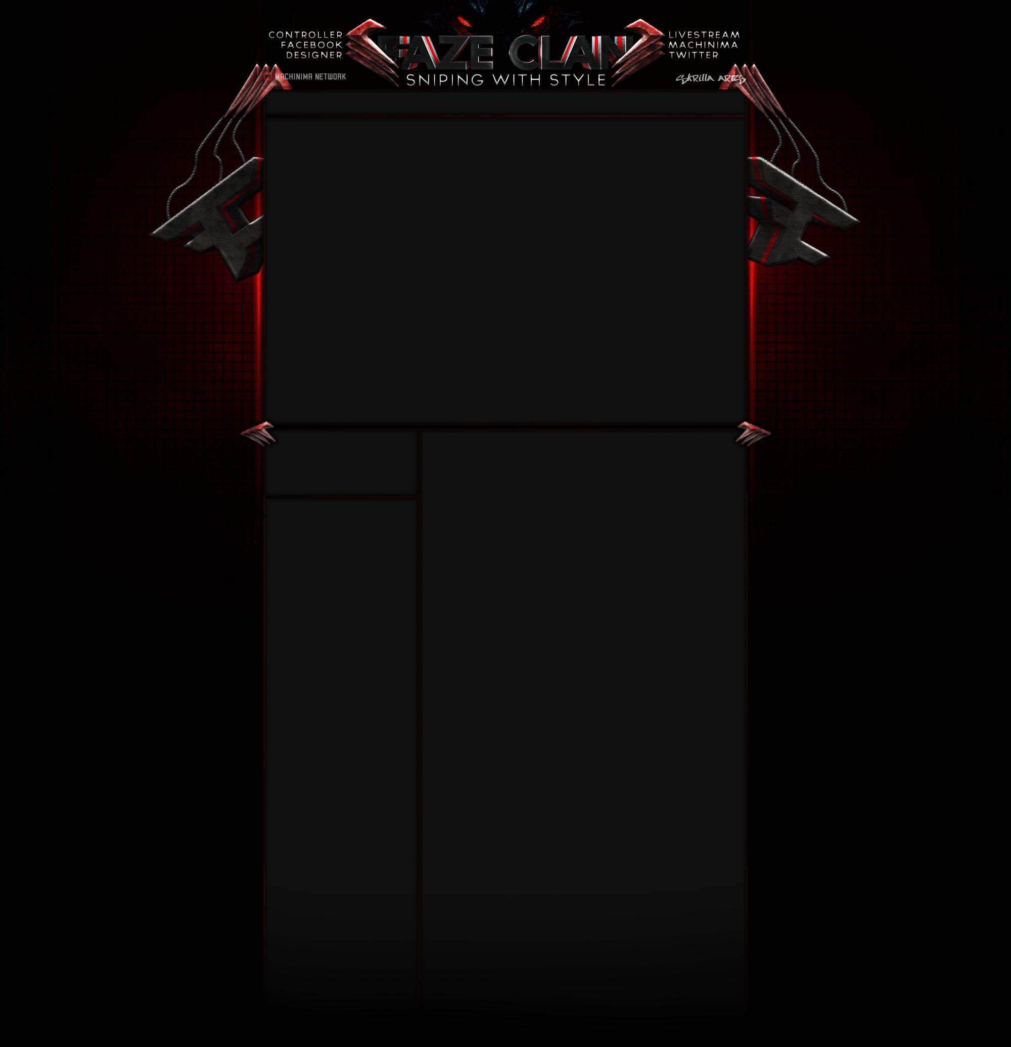 FAZE Clan Background by SA by screech001 2000x2070