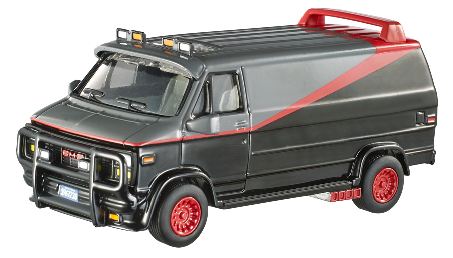 HOME | COLLECTION | HOT WHEELS ELITE ONE (1:50) | A-TEAM VAN