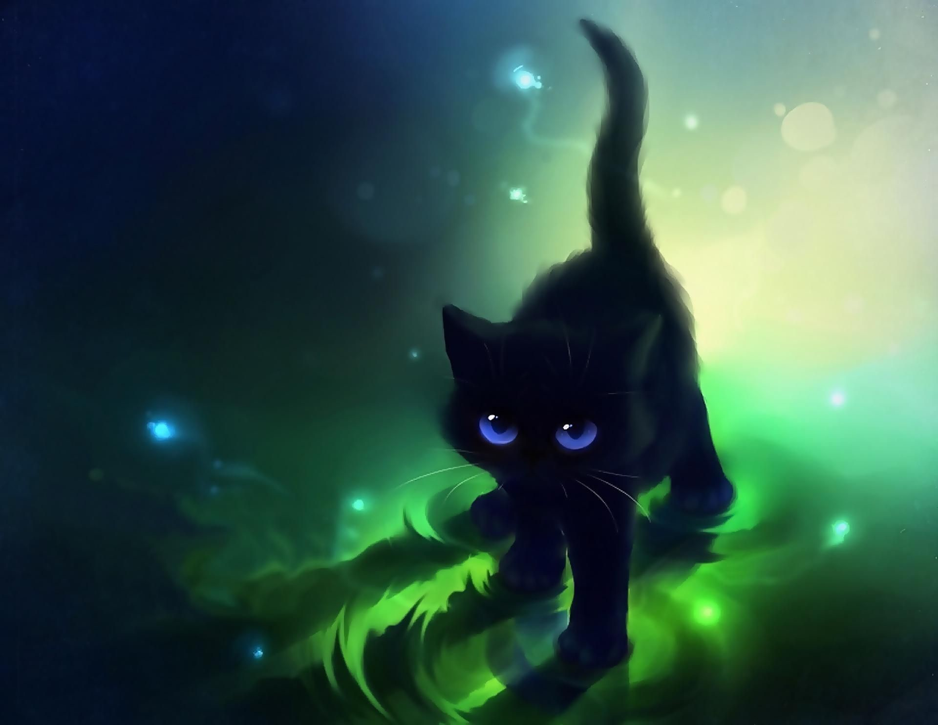 73 Anime Cat Wallpapers on WallpaperPlay 1920x1483