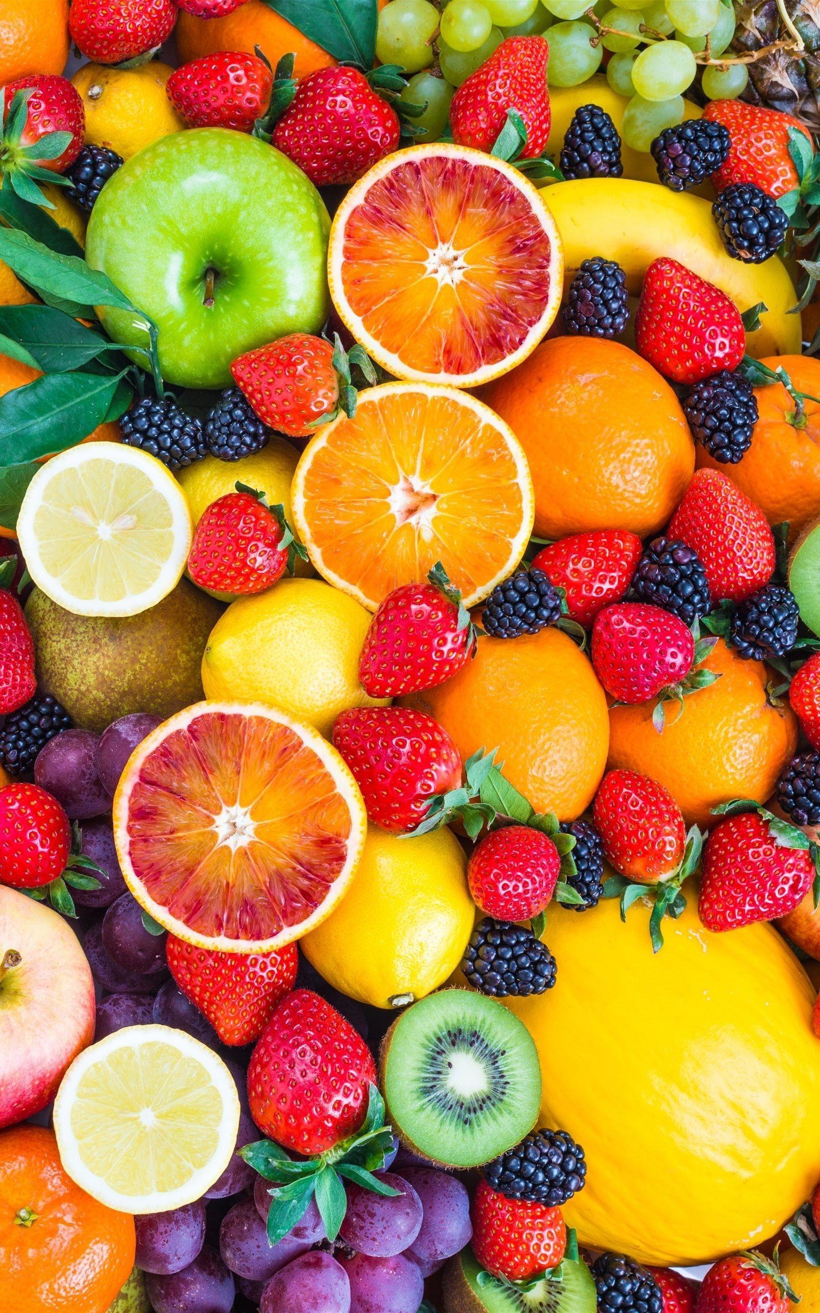 Best Fresh Fruit Wallpaper iPhone iPhoneWallpapers Food 1600x2560