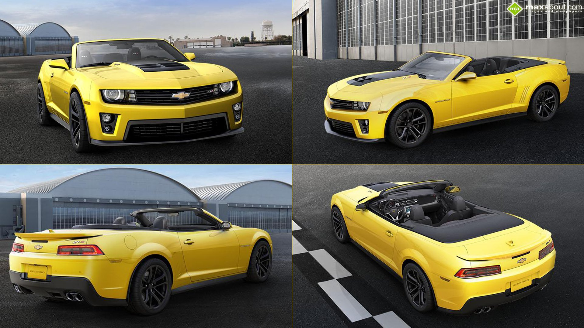 2014 Chevrolet Camaro ZL1 Convertible wallpaper   1081599 1920x1080