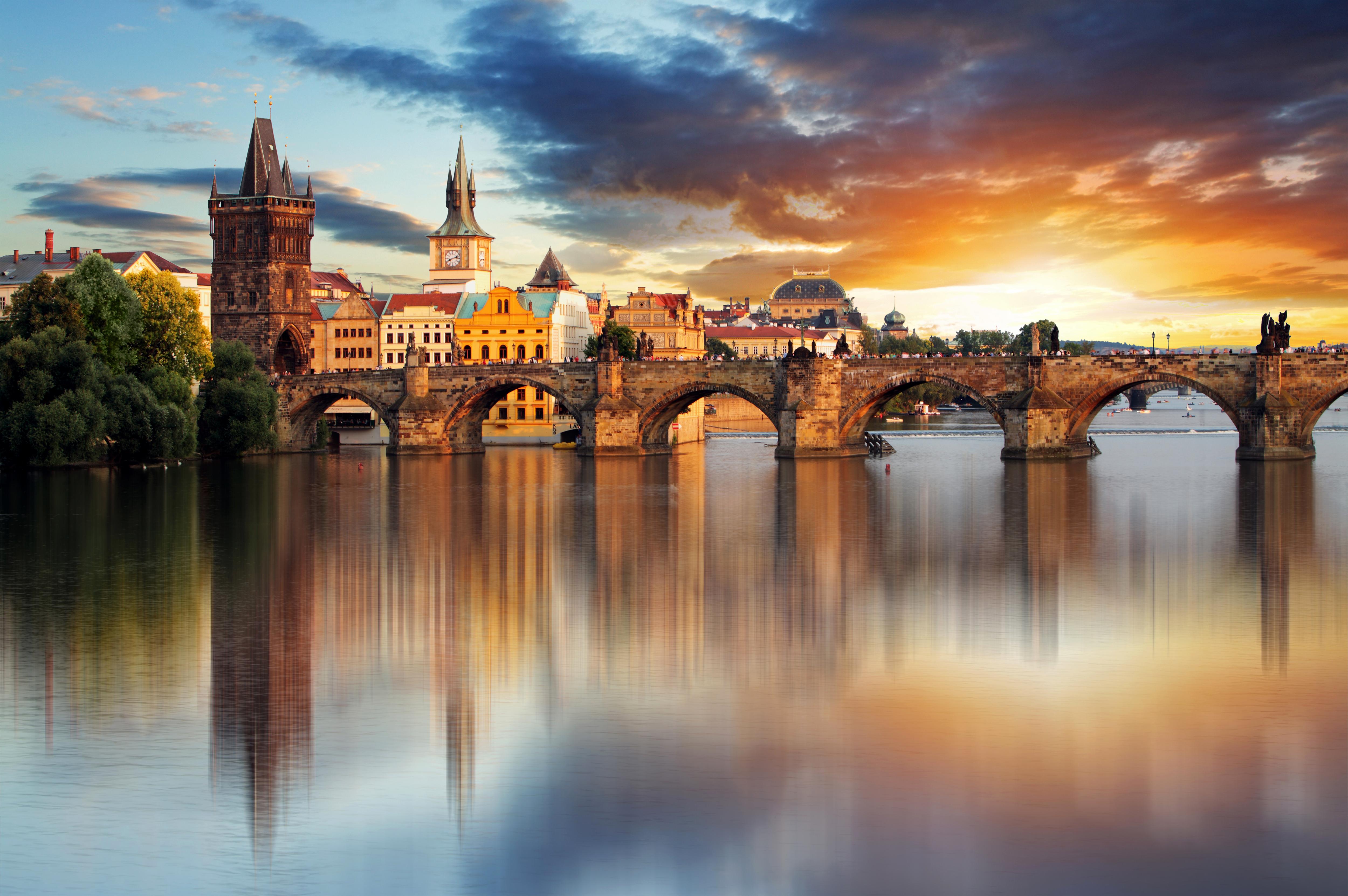 Charles Bridge Prague Wallpaper Gallery Yopriceville   High 5000x3324