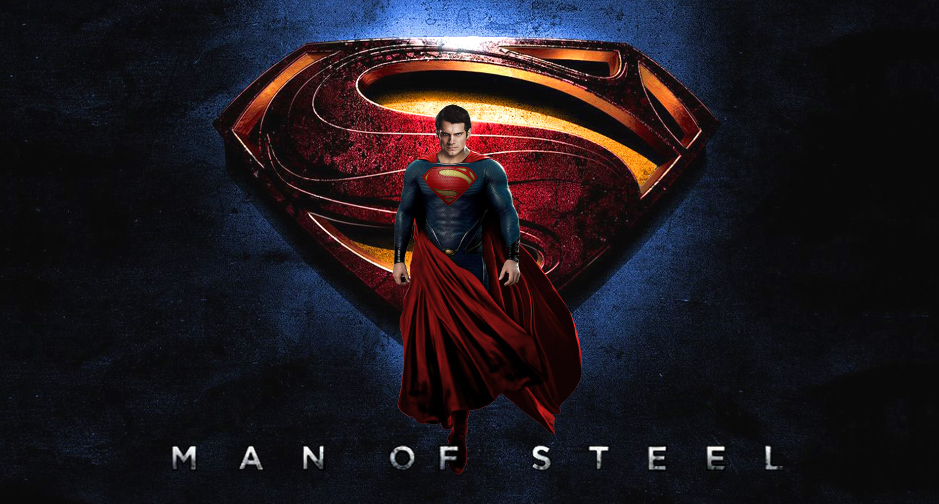 Superman Man Of Steel Wallpaper HD 002 by Super TyBone82 on 1900x1020