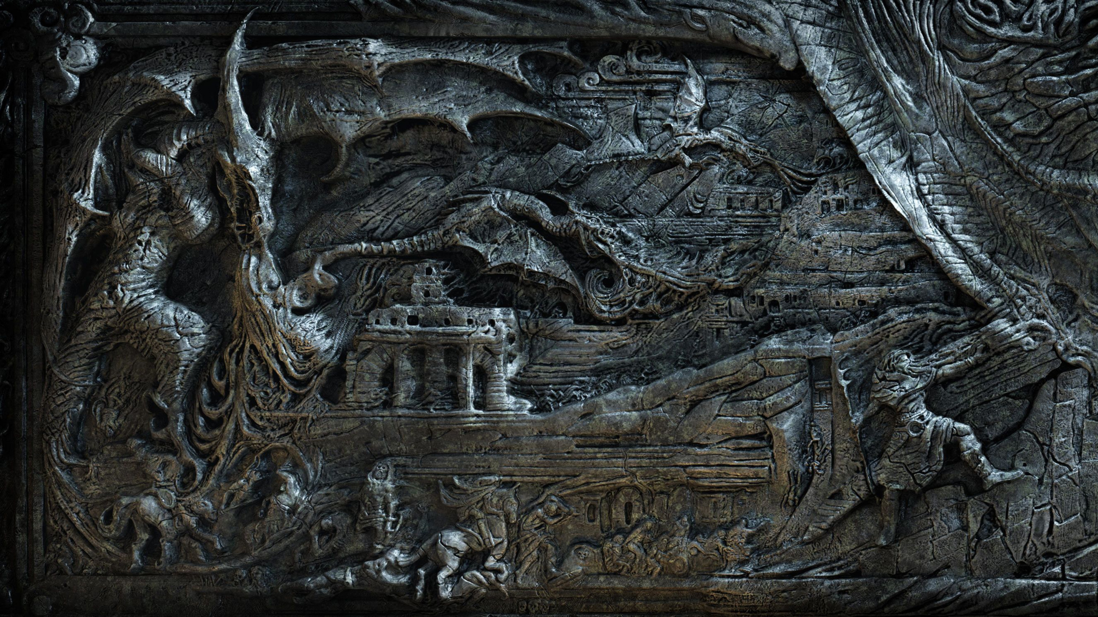 Download Wallpaper 3840x2160 The elder scrolls Skyrim Bas Magician 3840x2160