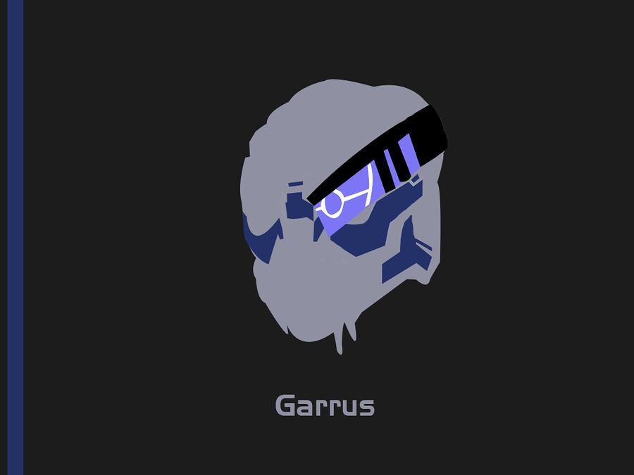 Garrus Wallpaper by Okinn 900x675