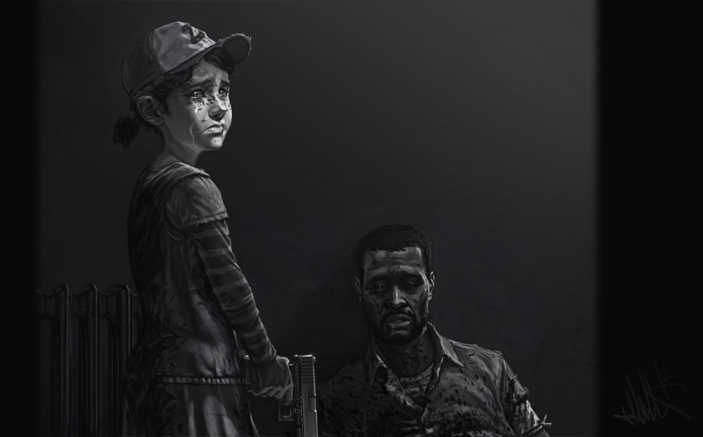The Walking Dead Computer Wallpapers Desktop Backgrounds 1396x869 1396x869