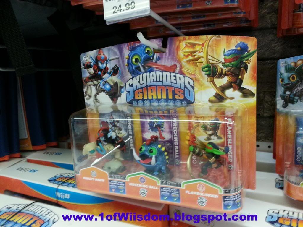 Wiisdom Skylanders Giants Triple Pack 7 Fright Rider Wrecking 1024x768