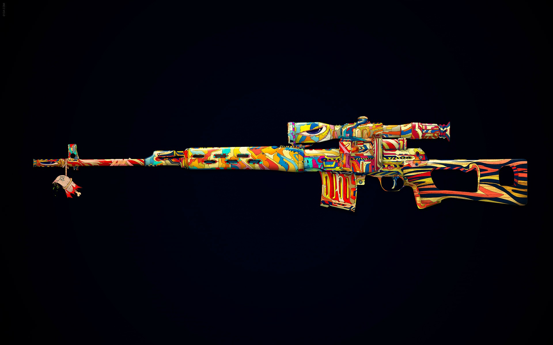 Weapons   Sniper Rifle Wallpaper 1920x1200
