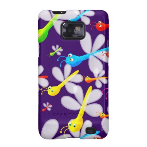 Cute Cartoon Dragonfly Wallpaper Samsung Galaxy S2 Cases Zazzle 512x512