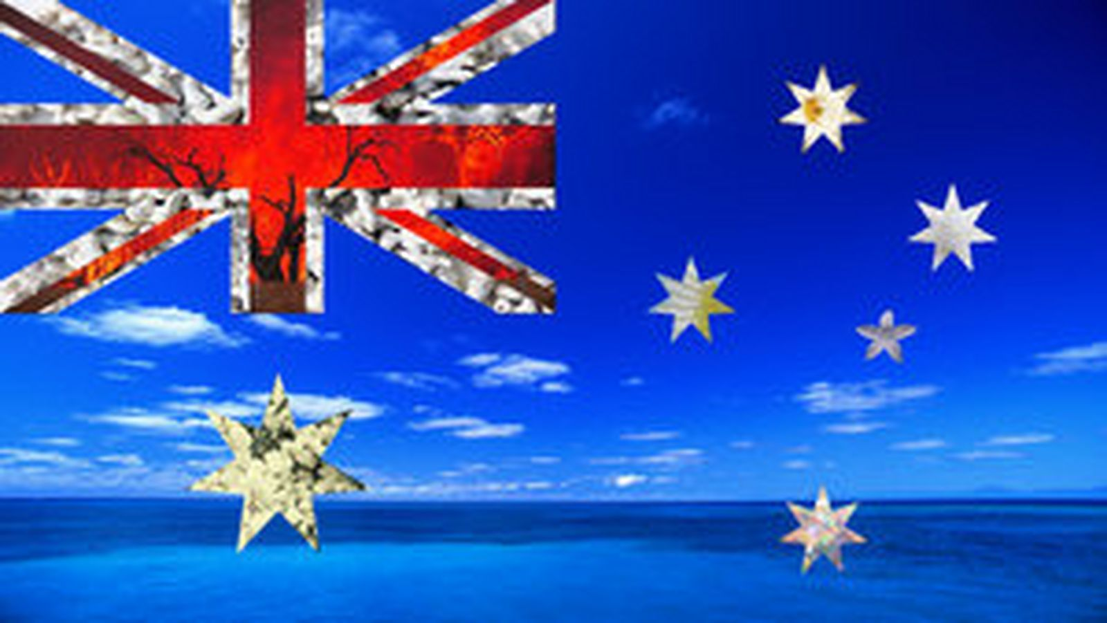 australian flag Wallpaper and Background Image 1600x901 ID 1600x901