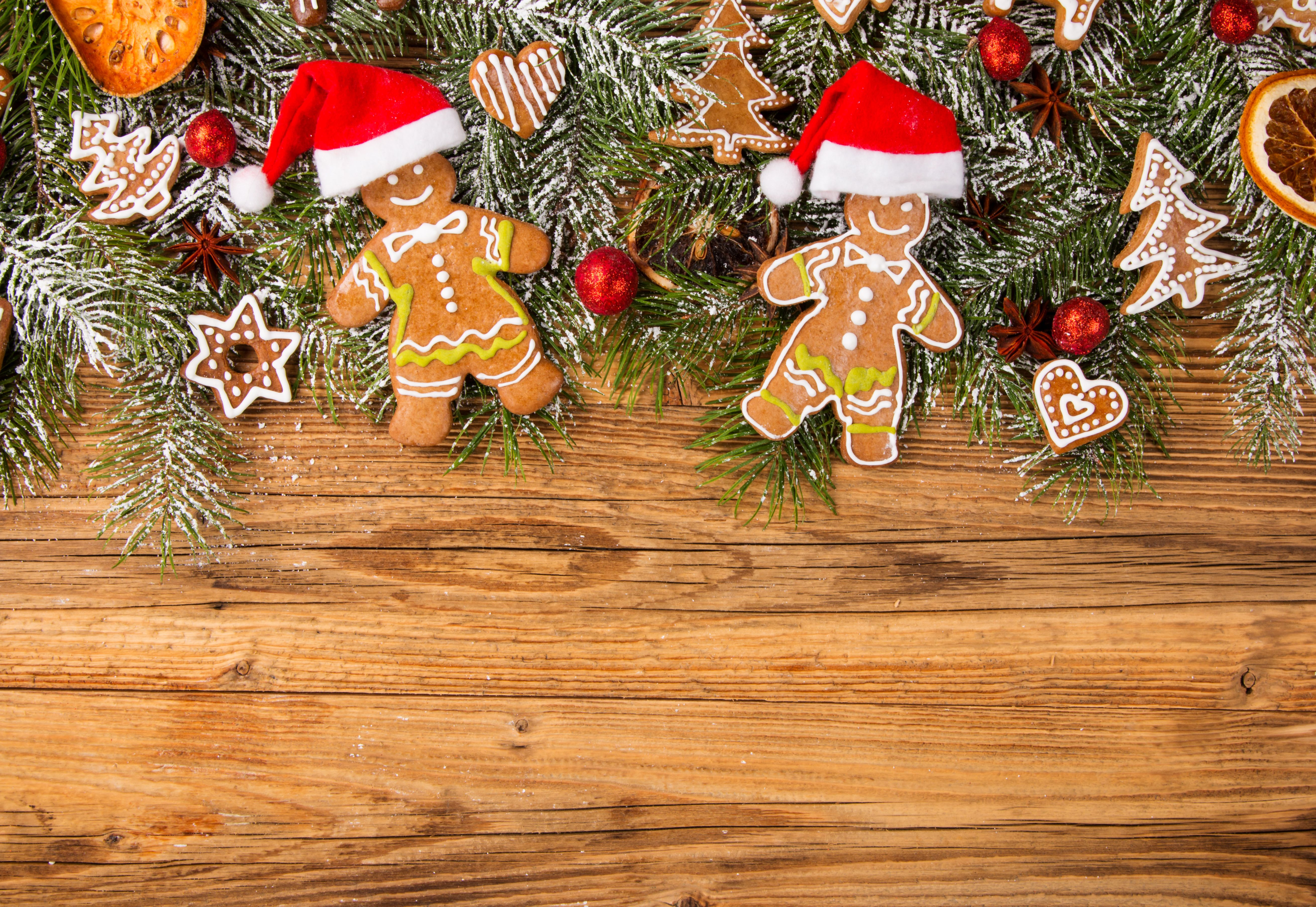 Download Christmas Food Wallpaper Gallery 5240x3611