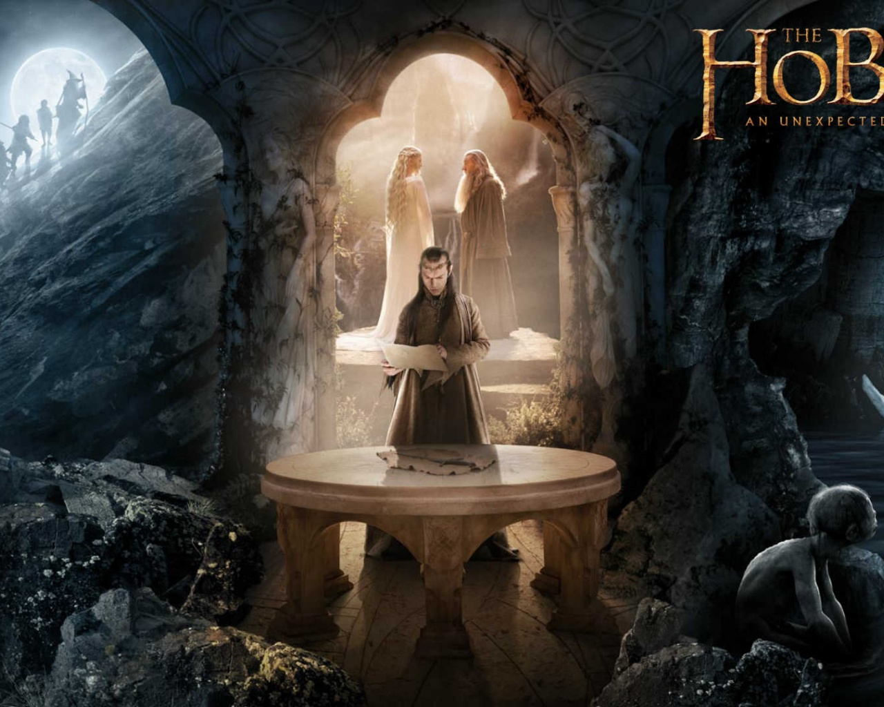 1280x1024 The Hobbit   Elrond desktop PC and Mac wallpaper 1280x1024