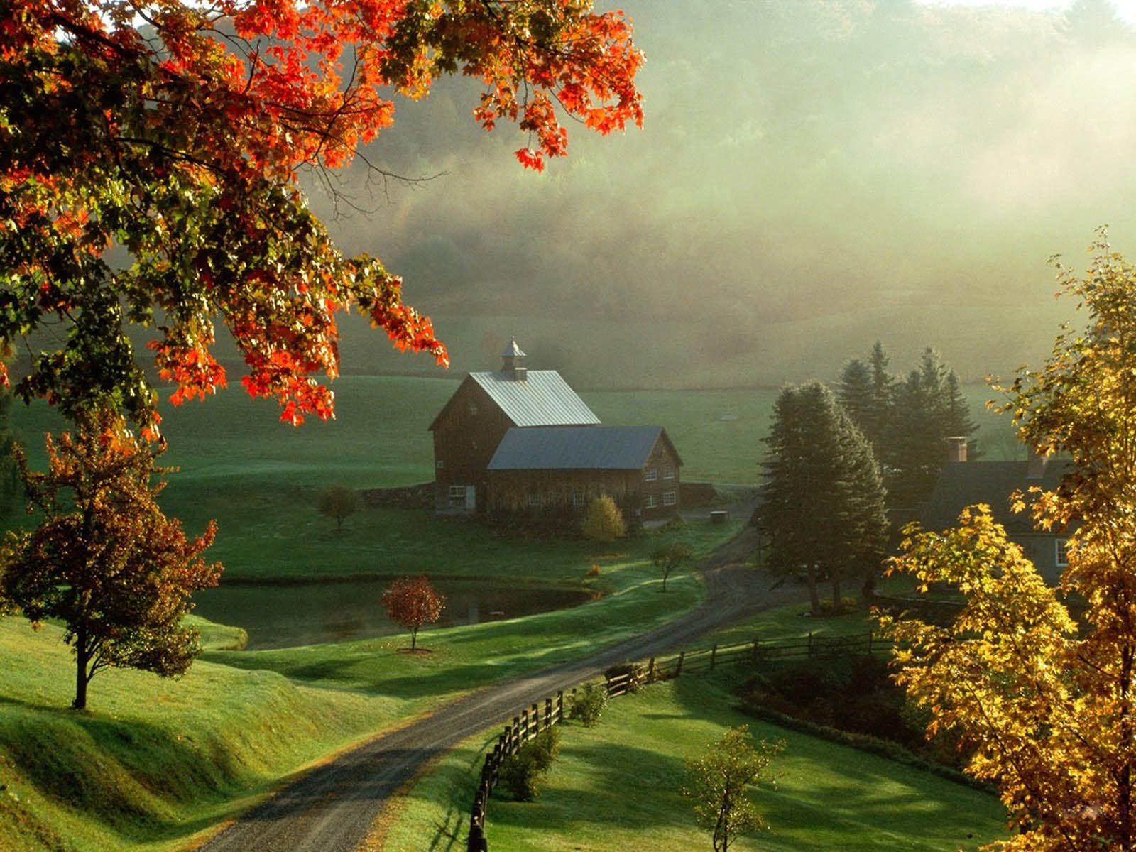 XS Wallpapers HD Beautiful Autumn Scenery Wallpapers 1600x1200