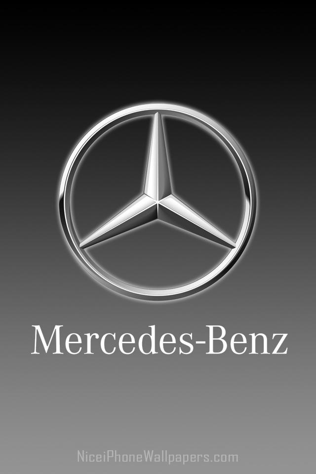 Mercedes Benz Logo Wallpaper 640x960