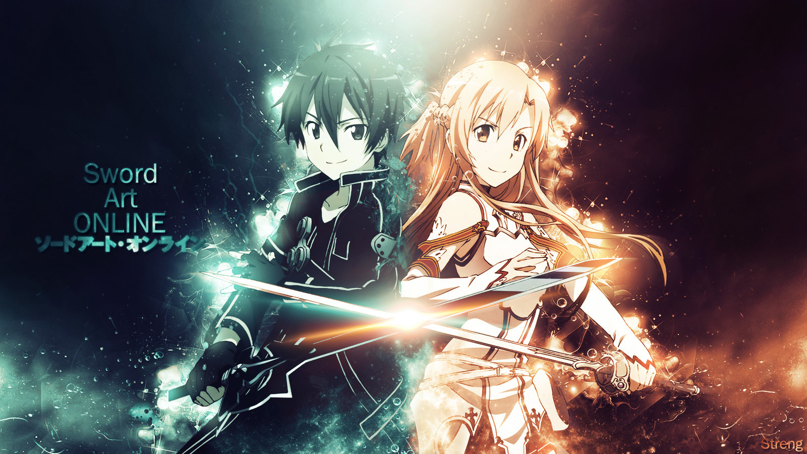 Sword Art Online Wallpaper by StrengXD 1600x900