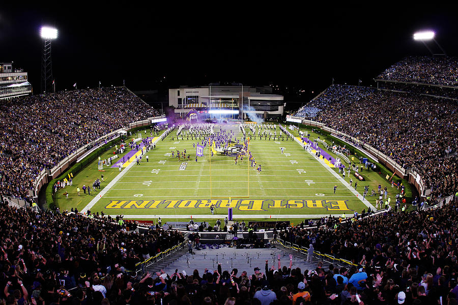 Ecu Photograph   Ecu Dowdy ficklen Stadium by Rob Goldberg 900x600