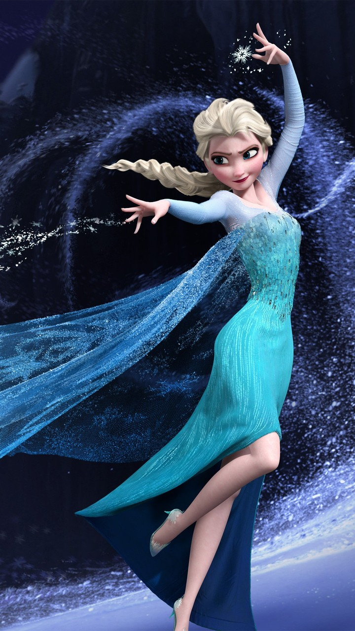 Elsa   Frozen Mobile Wallpaper 2859 720x1280