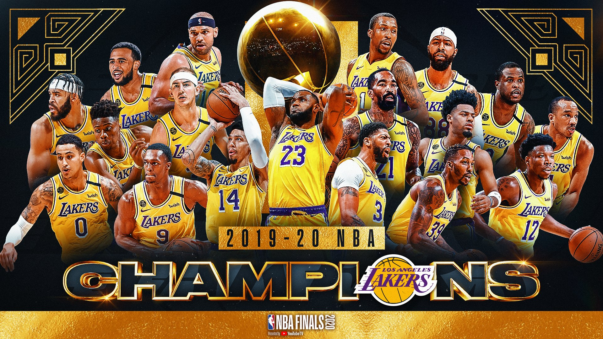 Free download Los Angeles Lakers 2020 NBA Finals Champions ...