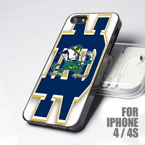 Notre Dame Logo Footballs Team for iPhone 4 and 4S 500x500