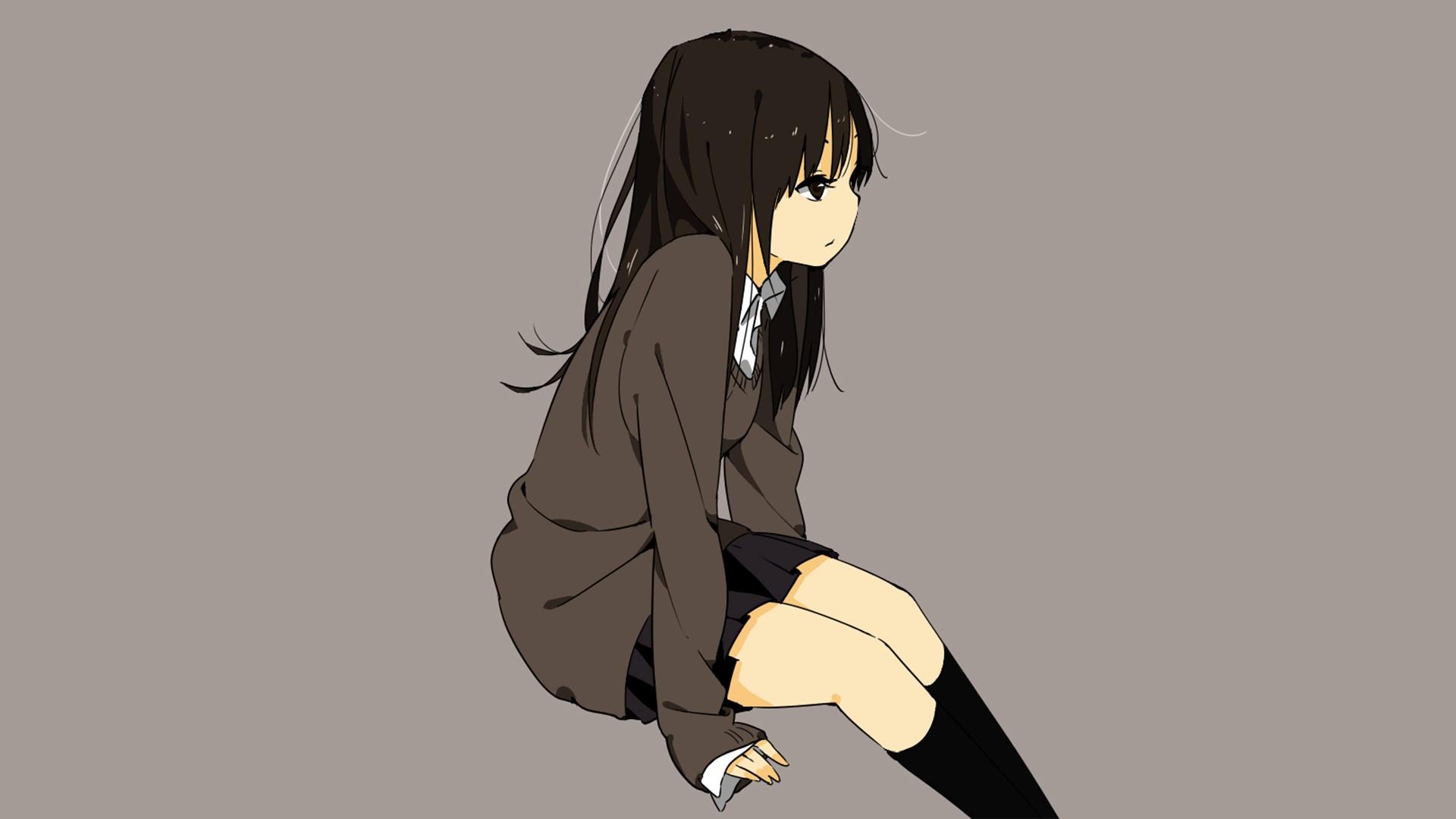 Sad Anime Girl HD Wallpaper 1920x1080 ID56245 1920x1080
