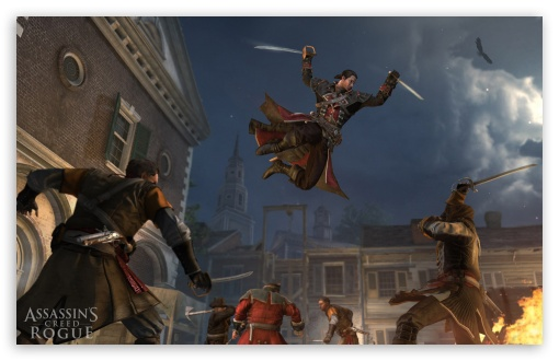 Free Download Assassins Creed Rogue Jump To Kill Hd Desktop
