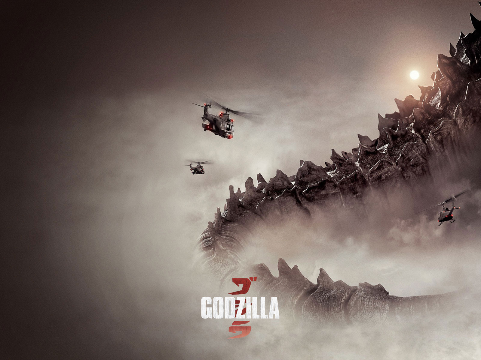 Godzilla Movie 2014 HD iPhone amp iPad Wallpapers 1600x1200