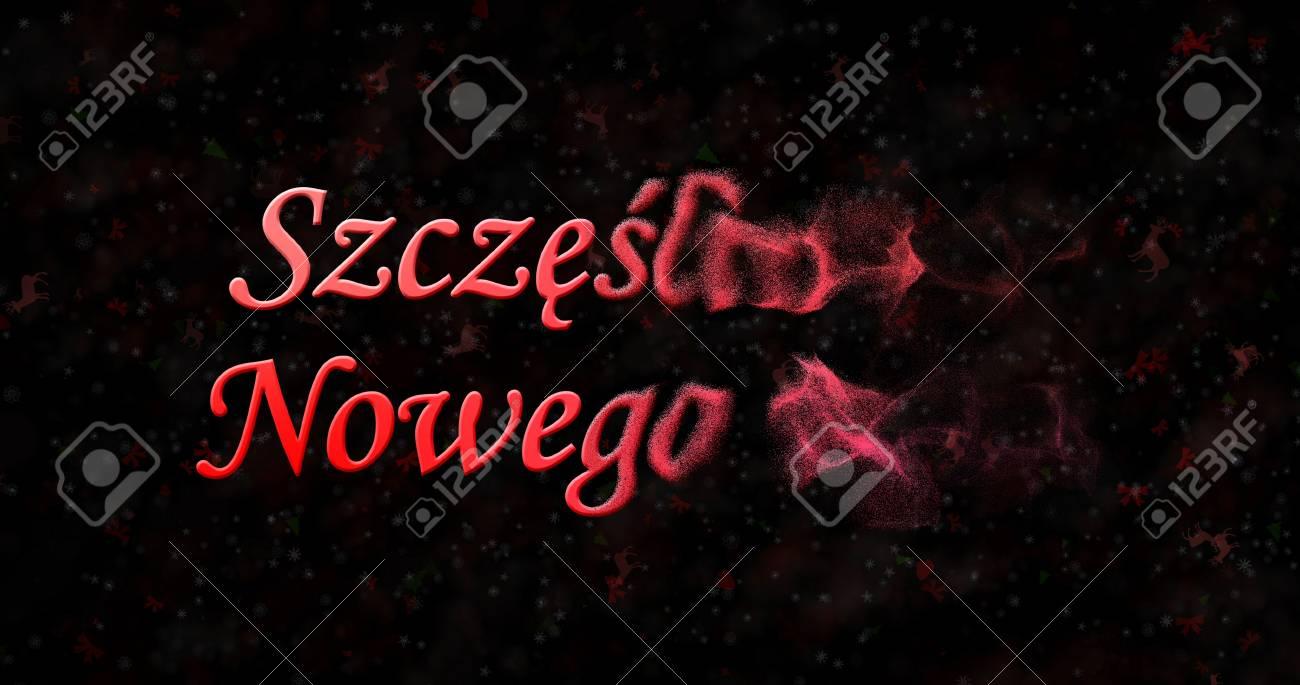 Happy New Year Text In Polish Szczesliwego Nowego Roku Turns 1300x685