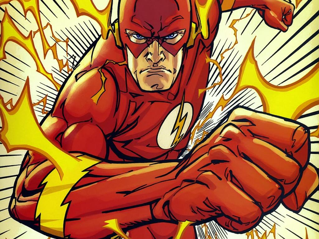 DC Comics Wallpaper 1024x768 DC Comics Flash The Flash Flash 1024x768