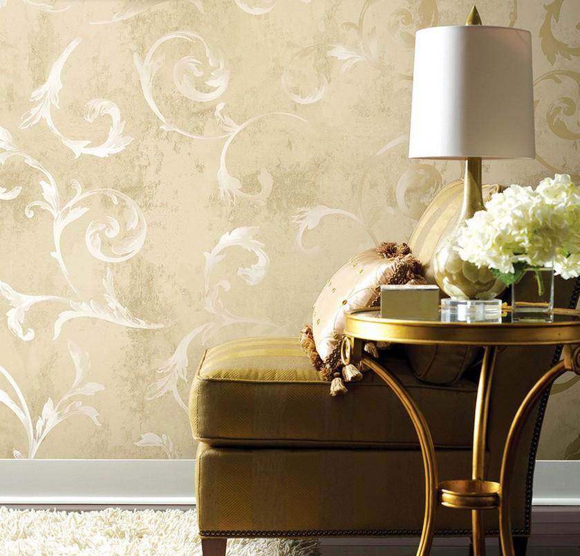 Living room wallpaper design ideas 3D house 3D house pictures 839x804