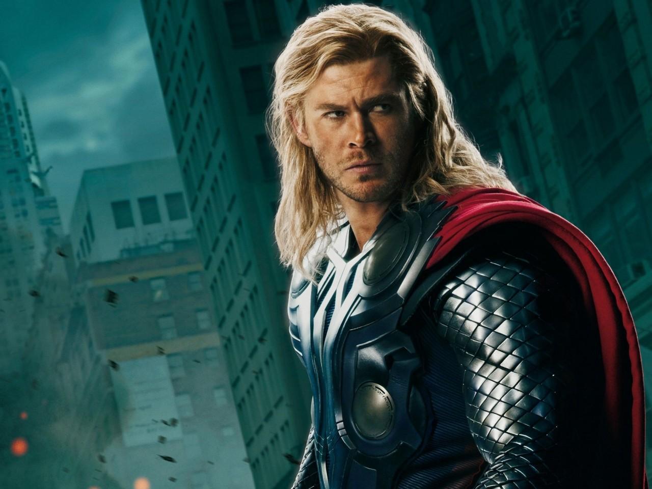 Chris Hemsworth wallpaper The Avengers Thor 1280x960