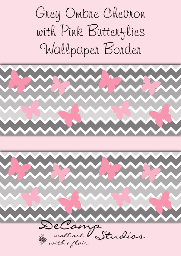 Pink And Gray Chevron Border PC, Android, iPhone and iPad. Wallpapers ...